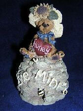 Boyds Bears BAILEY A LITTLE BIT OF HONEY Bee Hive NEW & NEVER DISPLAYED