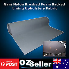 Auto Headliner Roof Lining Upholstery Suede Fabric with Foam Backing 1.51 x 1.5M