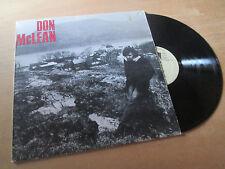 DON McLEAN same - FOLK ROCK - UNITED ARTISTS Lp 1972