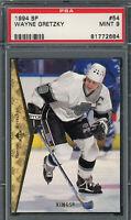 Wayne Gretzky Los Angeles Kings 1994 Upper Deck SP Hockey Card #54 Graded PSA 9