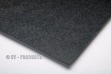 "ABS Plastic Sheet Black Vacuum Forming 1/8"" Thick 12"" x 48"" - 251f"