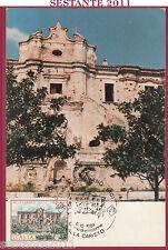 ITALIA MAXIMUM MAXI CARD ROMA 519 VILLE VILLA CARISTO 1984 STRIGNANO RC B754