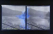 Ardennes Photo stéréo négatif sur film souple 1914