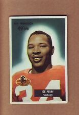 SHARP 1955 Bowman #44 Joe Perry card - San Francisco 49ers Niners - Hall of Fame