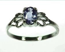 Purple Sapphire Sterling Silver Lady,s Ring RSS1061