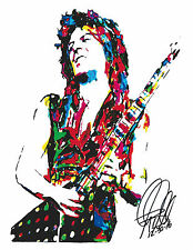 Randy Rhoads, Ozzy Osbourne, Guitar Player, Heavy Metal, 8.5x11 PRINT w/COA F