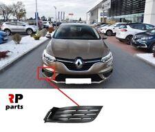 Para Renault Sandero 08-13 nuevo centro SUPERIOR PARACHOQUES DELANTERO REJILLA SIN DISTINTIVO