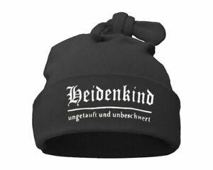 Baby Knoten-Mütze Heidenkind Gothic