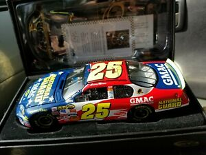 2007 -  NASCAR RCCA  Elite 1:24 Die Cast - #25 National Guard - Casey Mears