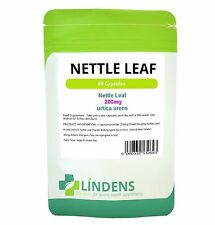 Lindens Nettle Leaf Extract Whole Herb 200mg 60 Capsules Urtica Urens Natural