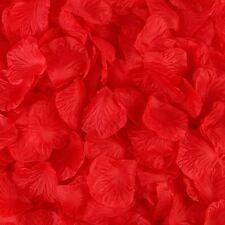 100-2000pcs Silk Rose Flower Petals Engagement Wedding Decoration Confetti Table