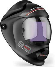 Tekware Large Viewing True Color Auto Darkening Welding Helmet Moto90 Wh009black