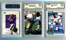 3 GRADED MINT ROOKIE CARDS-INCL.-EMMITT SMITH-BETTIS-TODD HEAP save on shipping