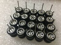 Hot Wheels Lot Of 10 Mix Rubber Wheels Tires for Custom Car 1/64 Diecast Mix RRC
