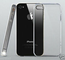 Ultra Thin Transparent Soft Silicone Back Case Cover For Apple iPhone 4 / 4S