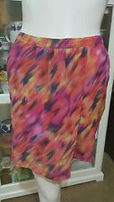 Witchery skirt.Sz8.Elasticised back.Silk x silk lined.As new condition