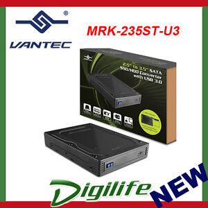 """Vantec MRK-235ST 2.5"""" to 3.5"""" SATA SSD/HDD Converter Enclosure Sata to USB"""