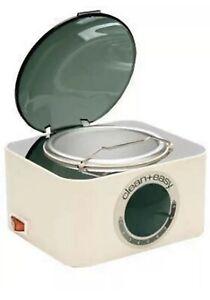 VINTAGE METAL Clean Easy Deluxe Pot Wax Warmer 40100C HARD TO FIND