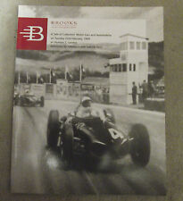 BROOKS AUCTION CATALOGUE MOTOR CARS & AUTOMOBILIA OLYMPIA LONDON 1999 BENTLEY