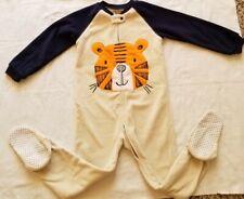 The Children's Place Boys Toddler Kid Footie Fleece Pajamas Size 4T