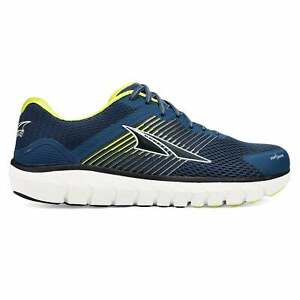 Altra Provision 4 Mens Zero Drop Support Road Running Shoes Blue/Lime