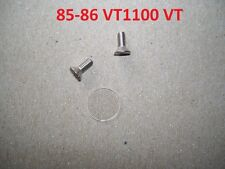 85-86 VT1100 VT master cylinder sight glass lens window