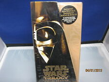 STAR WARS TRILOGY VHS 3 SPECIAL EDITION 1997 Digitally Mastered *NEW SEALED NBO*