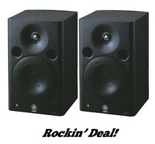 Yamaha MSP5 STUDIO Active Monitors MSP5-STUDIO Powered Monitor Pair TRUE SOUND!!