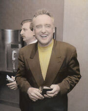 """DENNIS HOPPER 1991 HOLLYWOOD LEGEND & ACTOR 8X10"""" HAND COLOR TINTED PHOTO"""