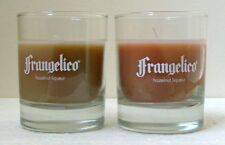 FRANGELICO TUMBLER GLASSES w/SCENTED CANDLE - PAIR - Collectible