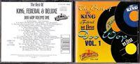CD 843 THE BEST OF KING  FEDERAL  DE LUXE  DOO WOP