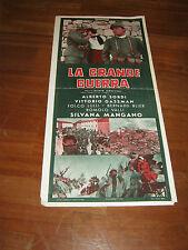 locandina,La Grande Guerra,MONICELLI,ALBERTO SORDI,GASSMAN,MANGANO