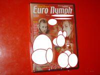 "DVD SEALED""EURO NYMPH""AXEL BRAUN'S WITH JESSICA FIORENTINO-AMANDA ANGEL-KARMA"