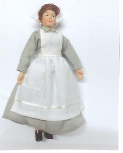 DOLLS HOUSE DOLL 1/12th SCALE  VICTORIAN/EDWARDIAN COOK