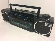 Vintage MAGNAVOX  BOOMBOX CASSETTE STEREO RADIO   D 8077