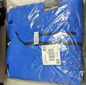 * Eddie Bauer Ignitelite Stretch Reversible Jacket, Men's Med Ascent Blue NWT