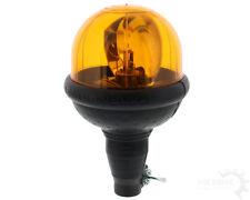 Rundumkennleuchte 12v H1 Halogen gelb kompakte Bauform Rohrstutzenbefestigung
