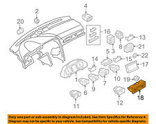 AUDI OEM 07-11 A6 Quattro Dash Cluster Switch-Control Box 4F1820043AGH77