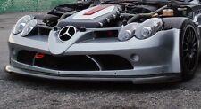 Mercedes Benz SLR McLaren 722 GT Trofeo De Fibra De Carbono Parachoques Delantero Divisor Inc