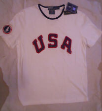 Ralph Lauren Polo 2012 Olympics Team USA Custom Fit Crewneck T-Shirt Large *new*