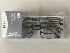 Lot of 6 Reading Glasses Jacob Gun +1.25 New in Package