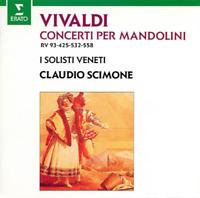 CLAUDIO SCIMONE-VIVALDI: MANDOLIN CONCERTOS-JAPAN UHQCD D20