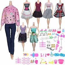New ListingDoll Clothes and Accessories for 11.5 inch Dolls, Party Dresses, Skirts, Pants