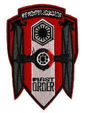 Star Wars - First Order - TIE-Fighter - Logo Uniform Patch Kostüm Aufnäher - neu
