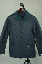 BARBOUR LIDDESDALE Men's XS Corduroy Polo Neck Quilted Polyamide Jacket RCS9231