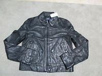 NEW Ralph Lauren Polo Leather Motorcycle Jacket Womens Extra Small Biker $998