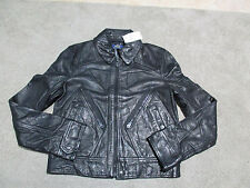 NEW Ralph Lauren Polo Leather Motorcycle Jacket Size Womens Small Biker $998