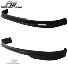 Fit 99-00 HONDA CIVIC 3DR EK JDM MUGEN FRONT BUMPER LIP +REAR BUMPER LIP SPOILER