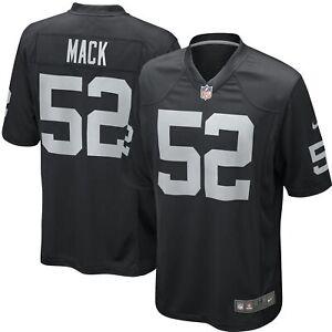 Nike NFL Youth Oakland Raiders Khalil Mack #52 Game Team Jersey