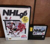 NHL 96 Sega Genesis no manual Tested